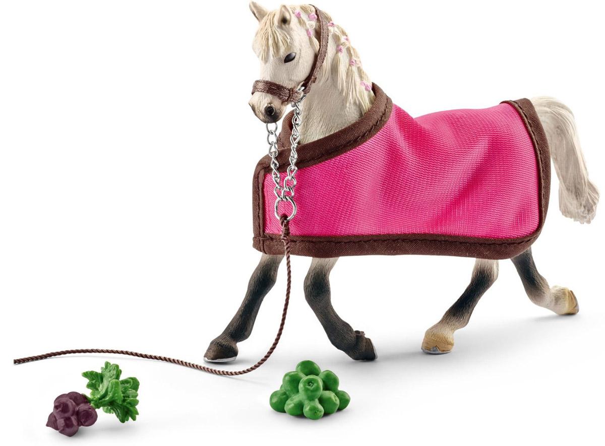 Schleich Фигурка Арабская кобыла с накидкой игрушка schleich фигурка андалузская кобыла
