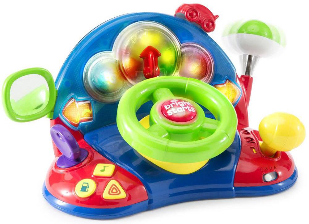 Bright Starts Развивающая игрушка Маленький водитель
