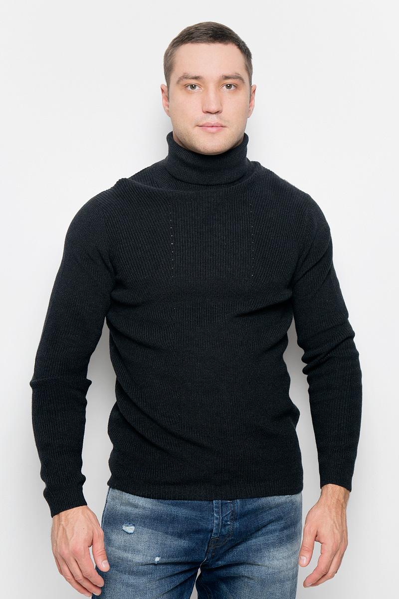 Свитер мужской Selected Homme Identity, цвет: графитовый. 16052121. Размер XL (50) свитер мужской max homme mhmyap02 maxhomme
