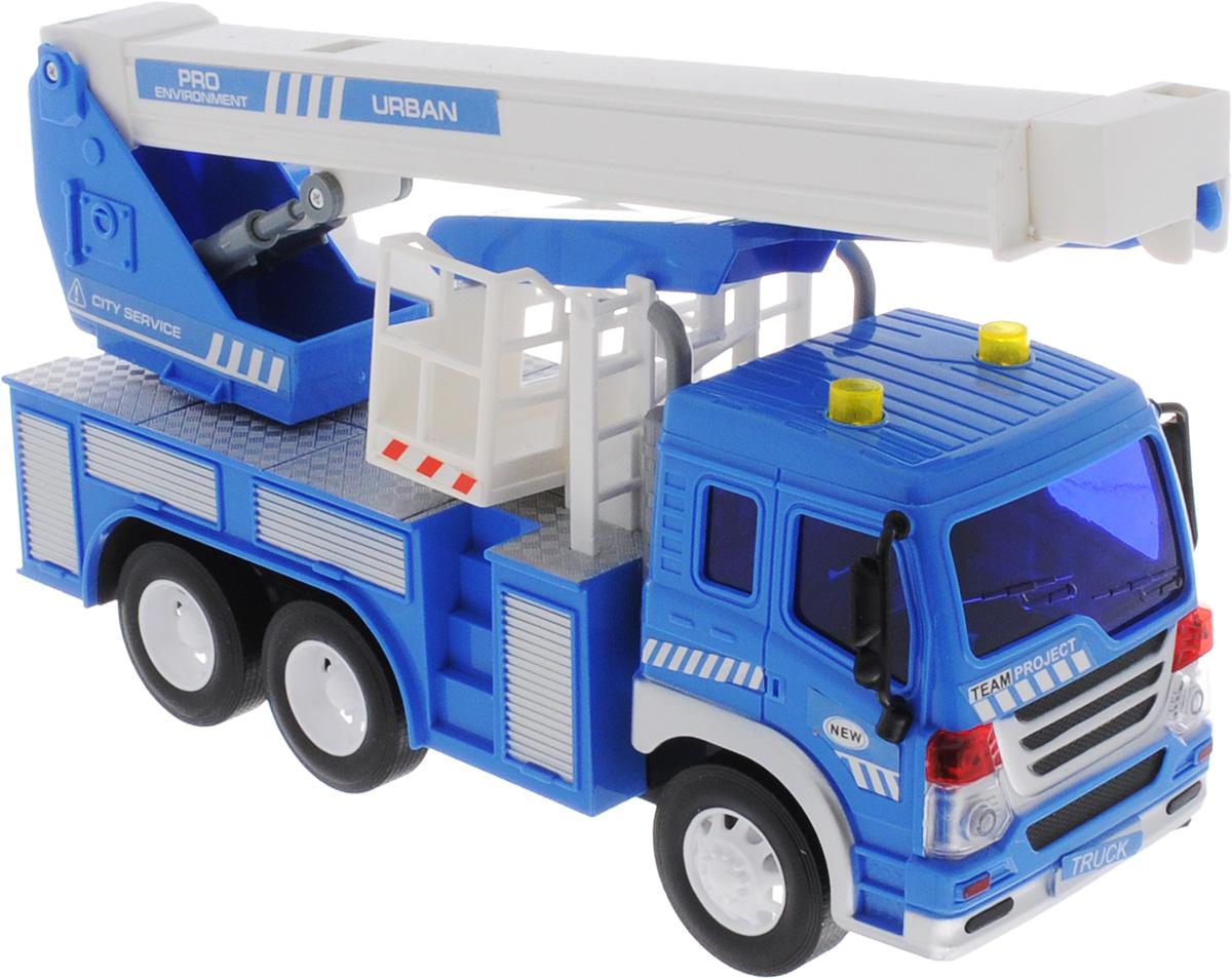 Dave Toy Кран инерционный цвет синий