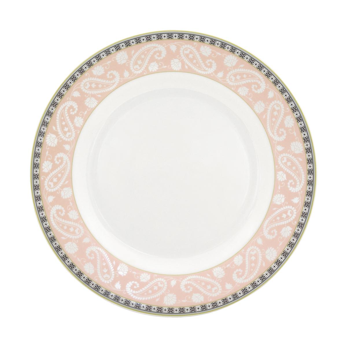 Набор суповых тарелок Esprado Arista Rose, диаметр 23 см, 6 штARR023RE301Набор Esprado Arista Rose состоит из шести суповых тарелок, выполненных из высококачественного костяногофарфора. Над созданием дизайна коллекций посуды из фарфора Esprado работает международная команда высококлассных дизайнеров, не только воплощающих в жизнь все новейшие тренды, но также и придерживающихся многовековых традиций при создании классических коллекций. Посуда из костяного фарфора будет идеальным выбором, для тех, кто предпочитает красивую современную посуду из высококачественного материала, которая отличается высокой прочностью и подходит для ежедневного использования. Посуда из коллекции Arista Rose прекрасно подойдет для уютного домашнего ужина, придав ему легкий оттенок торжественности. Тонкий огуречный узор в сочетании с нежным розовым цветом создает ощущение мягкости и тепла. Можно использовать в микроволновки печи и мыть в посудомоечной машине.