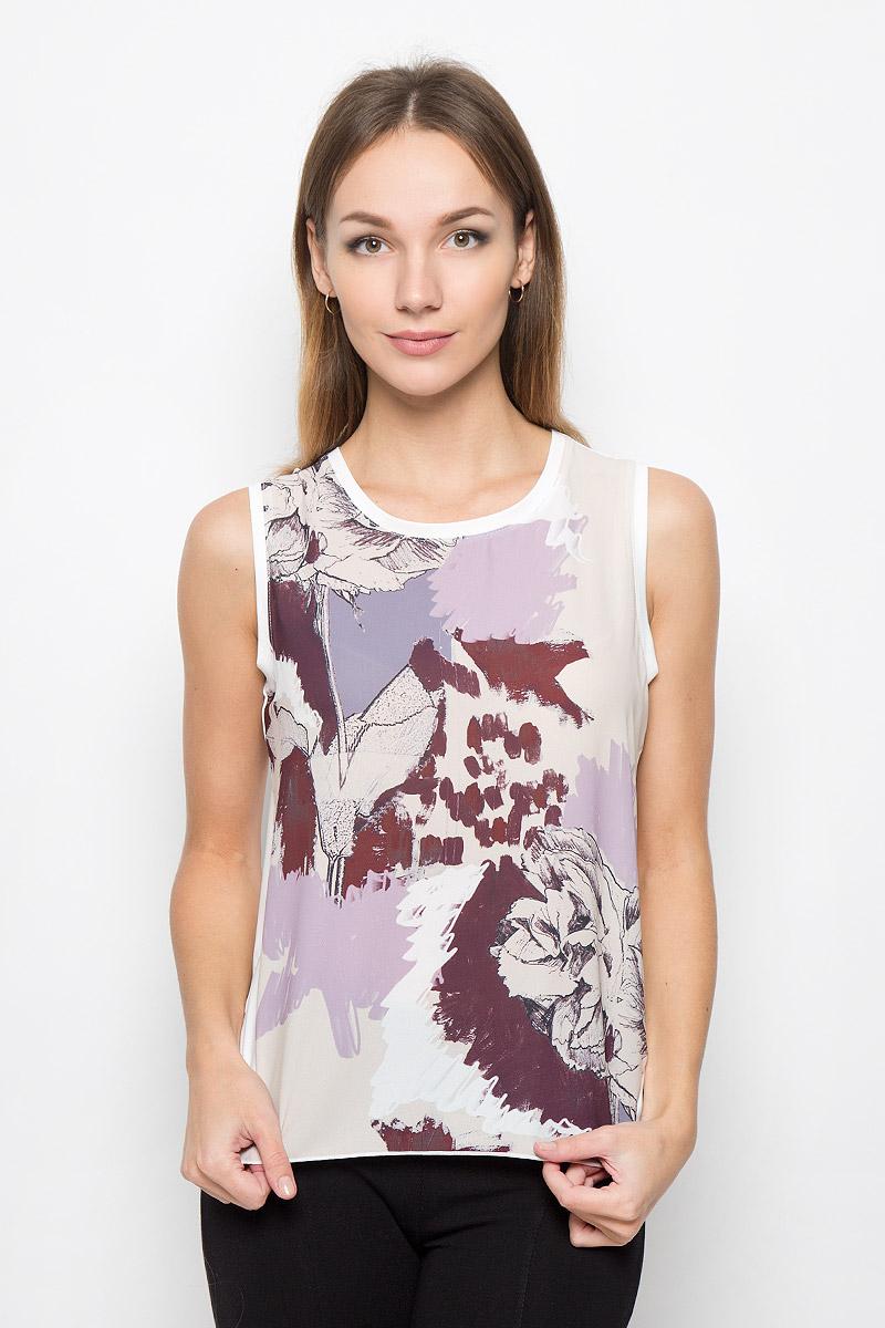 Топ женский Broadway Olivina, цвет: молочный, бежевый, бордовый. 10156668. Размер M (46) платье broadway ophira цвет бордовый 10156494 335 размер m 46