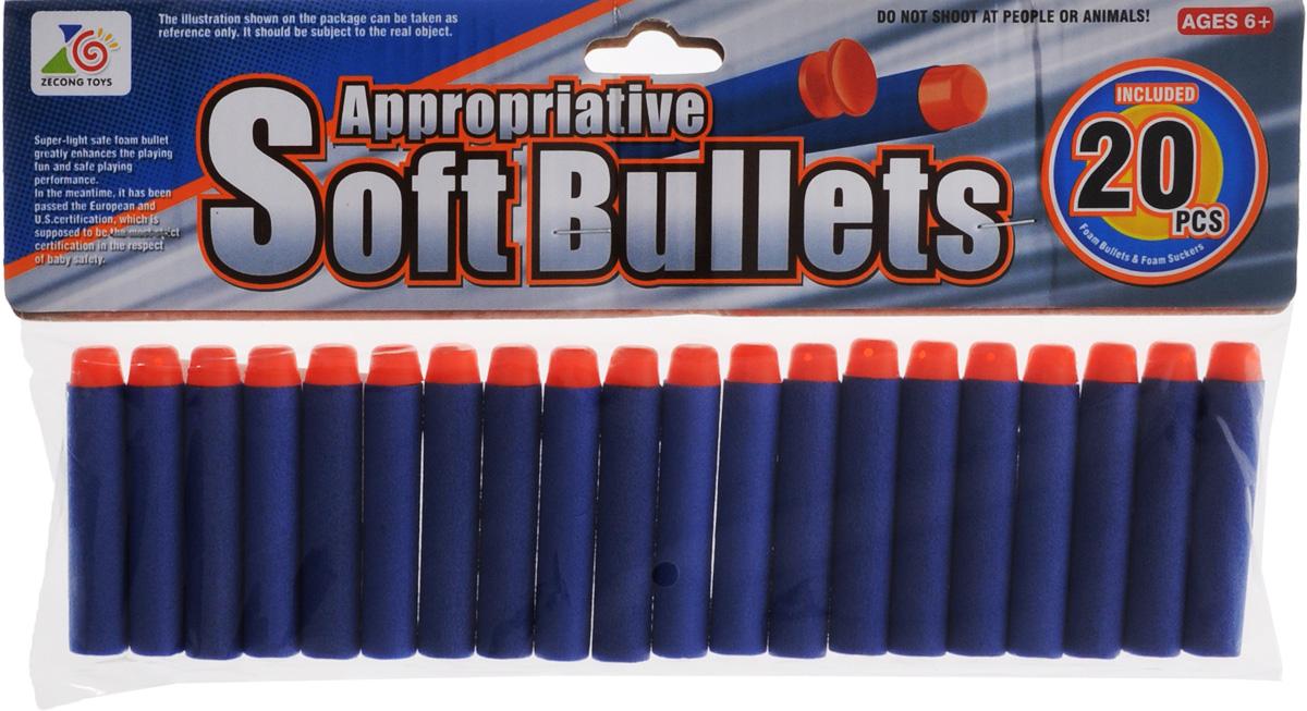 Junfa Toys Набор снарядов для бластера 20 шт