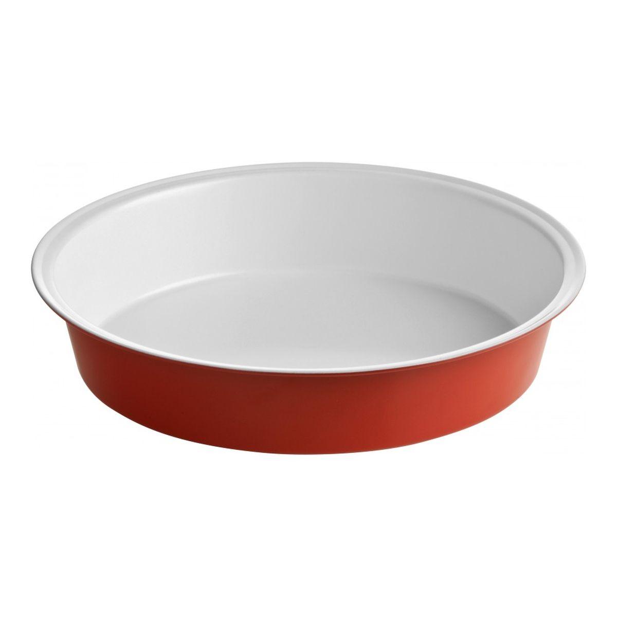 Форма для запекания Premier Housewares Eco Cook, круглая, диаметр 26 см0104319Форма для запекания Eco Cook подойдет для приготовления вкусного и полезного обеда для всей семьи. В ее изготовлении используется высококачественная нержавеющая сталь, которая отличается превосходными теплопроводными свойствами. Форма имеет уникальное антипригарное покрытие из керамики, что позволяет использовать минимум масла или жира в процессе запекания блюда. Можно мыть в посудомоечной машине.