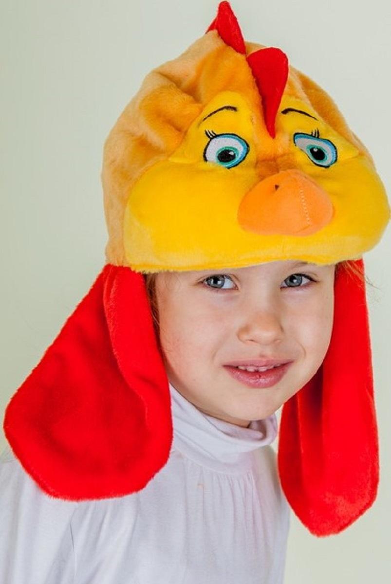 Карнавалия Карнавальный аксессуар для девочки Курочка цвет рыжий размер 54 -  Карнавальные костюмы и аксессуары