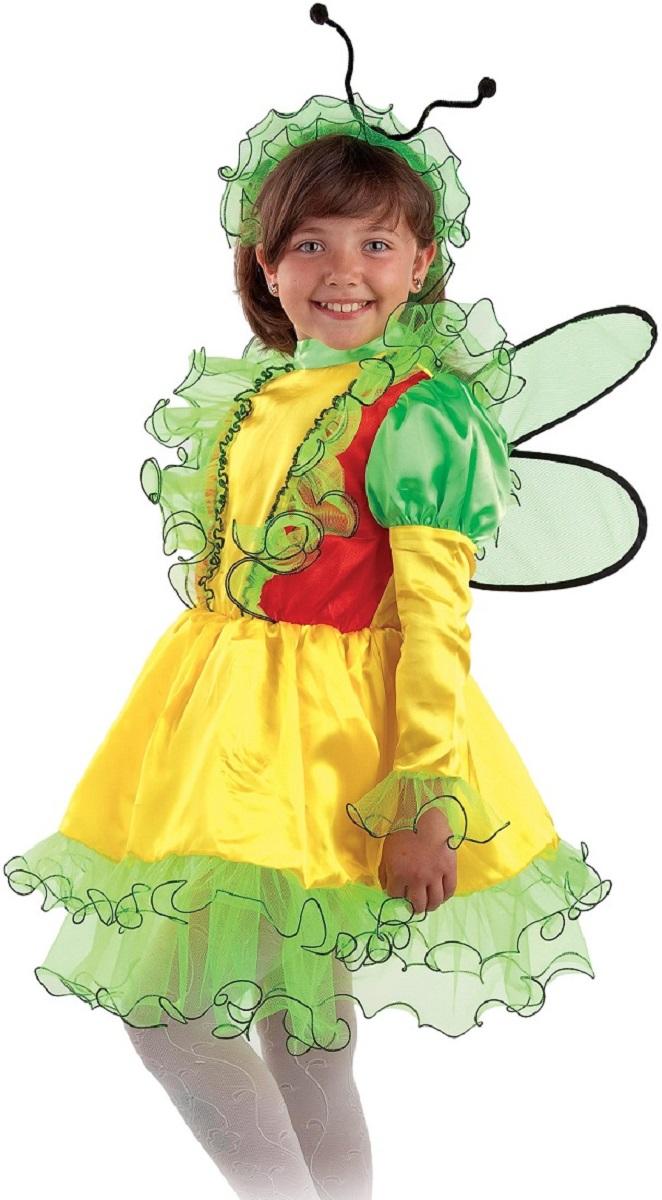 Карнавалия Карнавальный костюм для девочки Бабочка размер 134 - Карнавальные костюмы и аксессуары