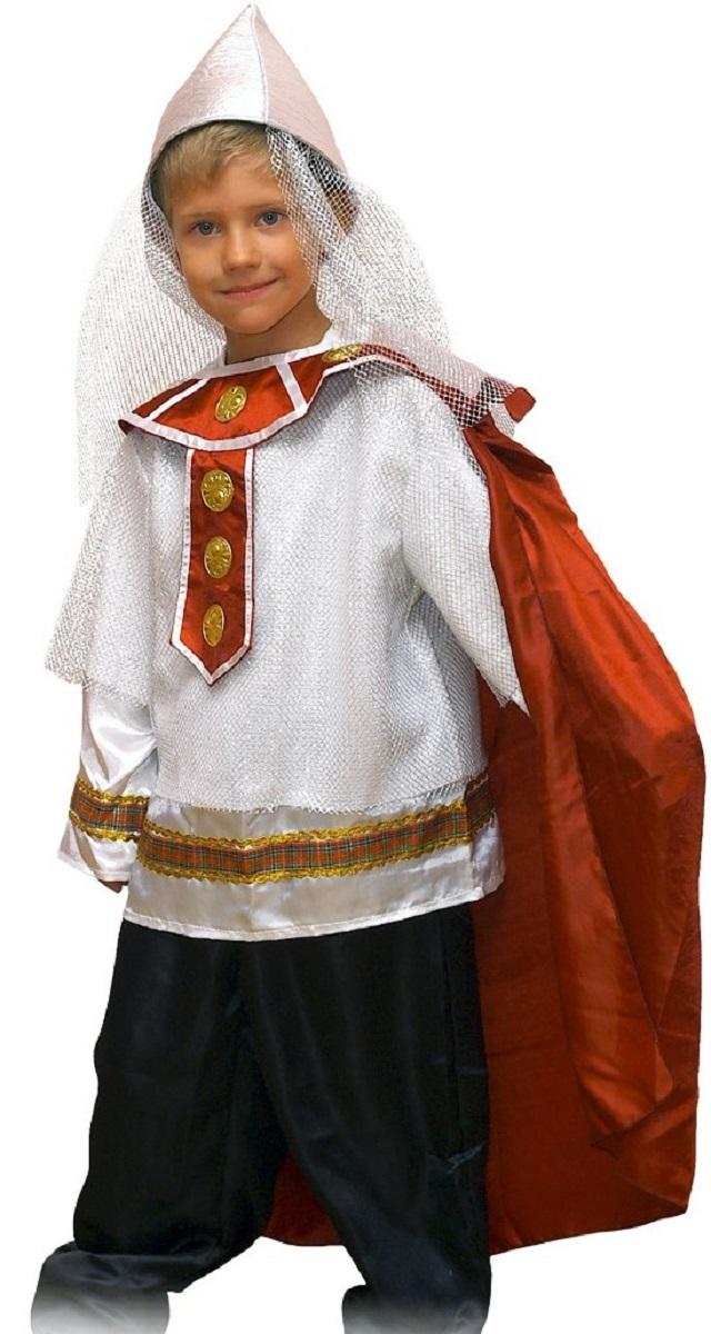 Карнавалия Карнавальный костюм для мальчика Богатырь размер