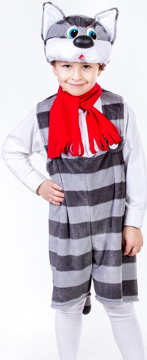 Карнавалия Карнавальный костюм для мальчика Кот Матрос цвет серый рост 122