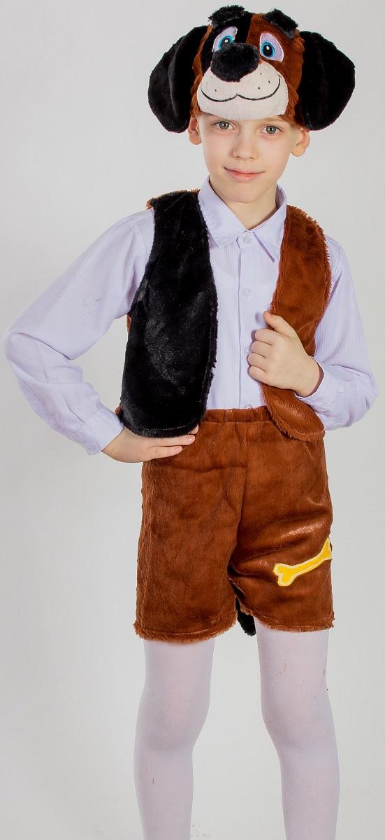 Карнавалия Карнавальный костюм для мальчика Песик рост 122 88041 шапочка кошечка розовая карнавалия