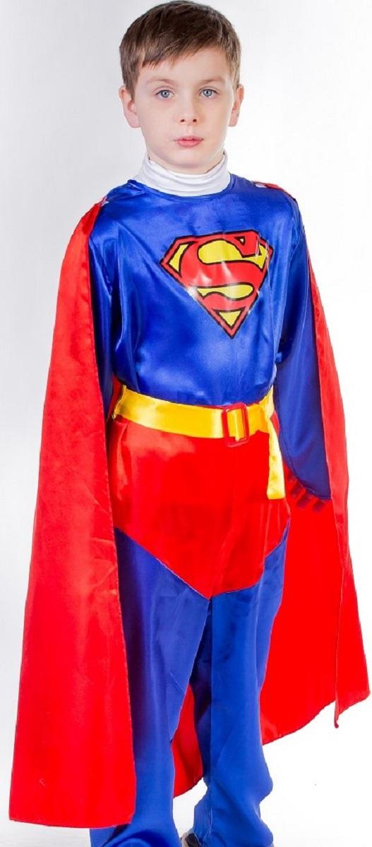 Карнавалия Карнавальный костюм для мальчика Супергерой размер 122 карнавальный костюм клубничка карнавалия