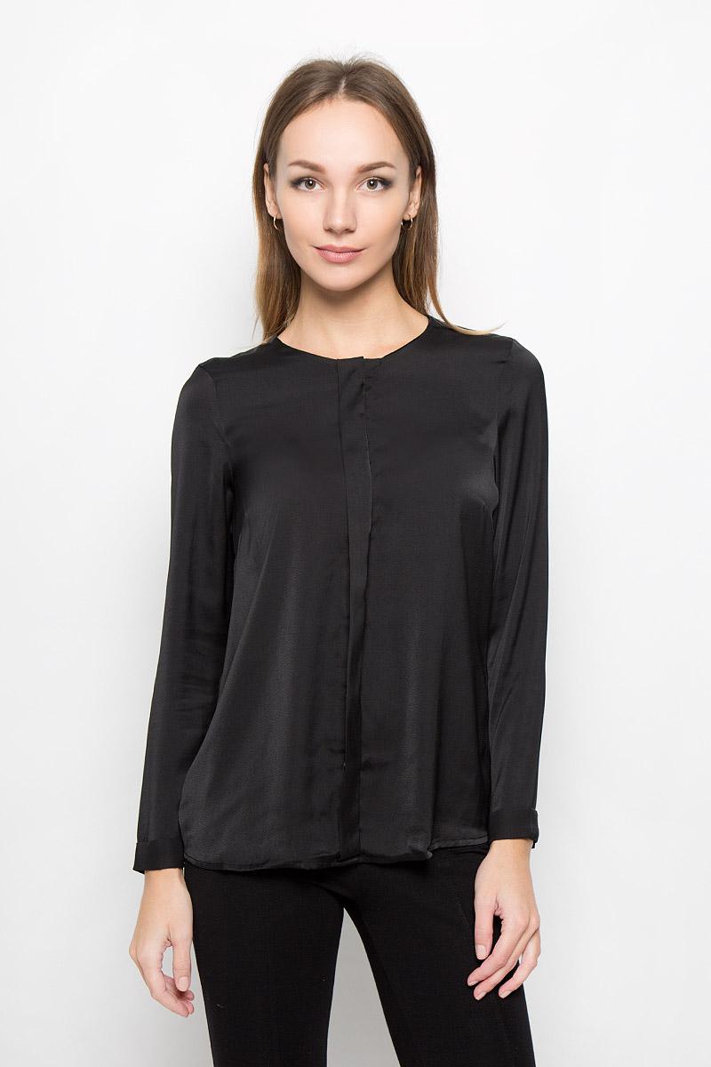Блузка женская Broadway Nadasia, цвет: черный. 10156505. Размер L (48) broadway блузка