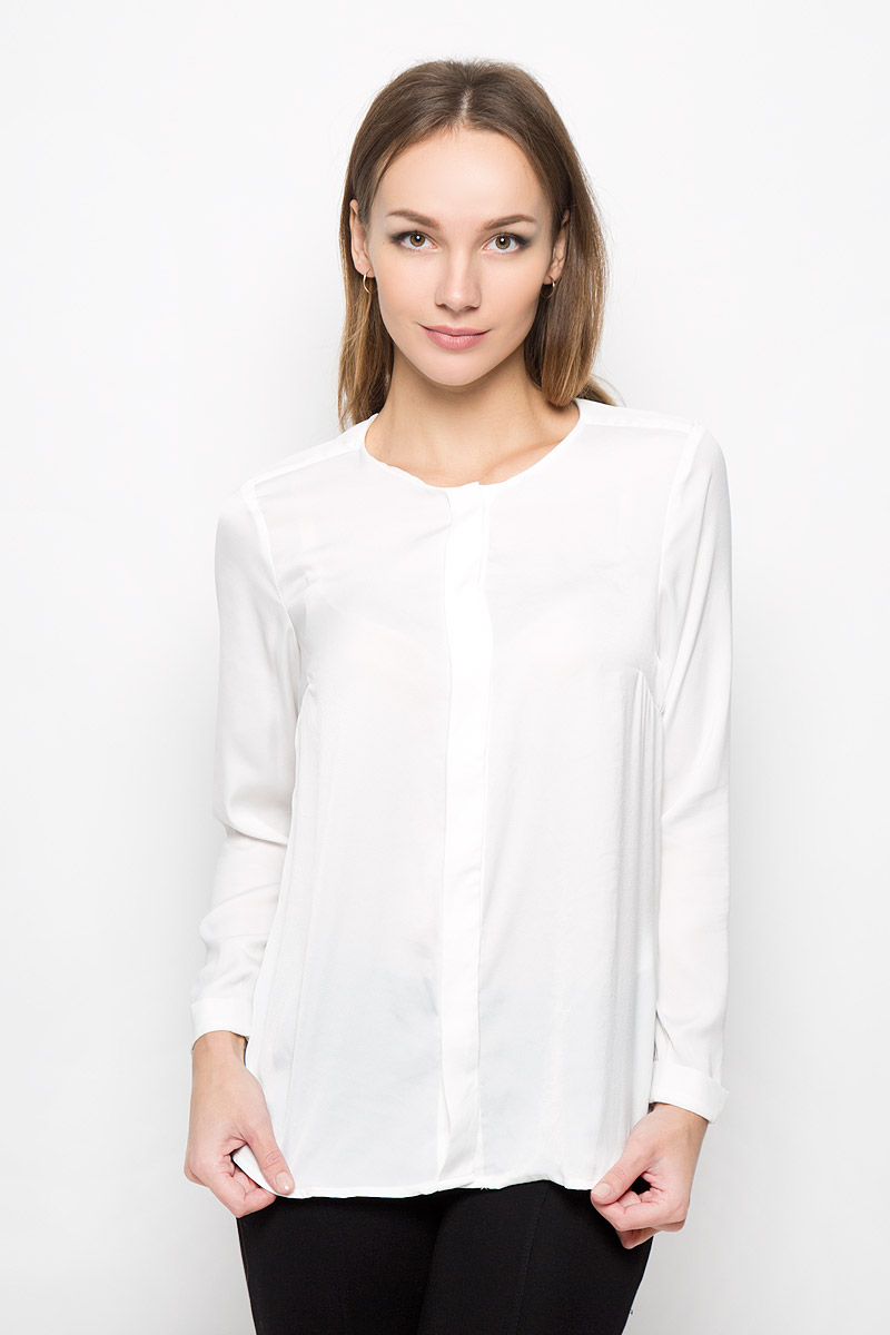 Блузка женская Broadway Nadasia, цвет: молочный. 10156505. Размер L (48) broadway блузка