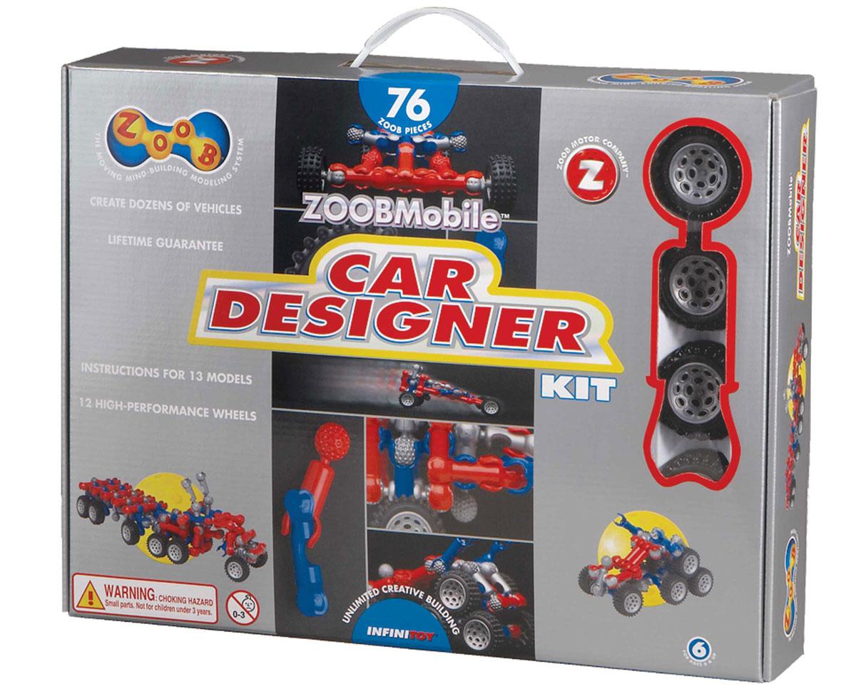 Zoob Конструктор Car Designer конструкторы zoob подвижный конструктор zoob с инерционным механизмом oz12055