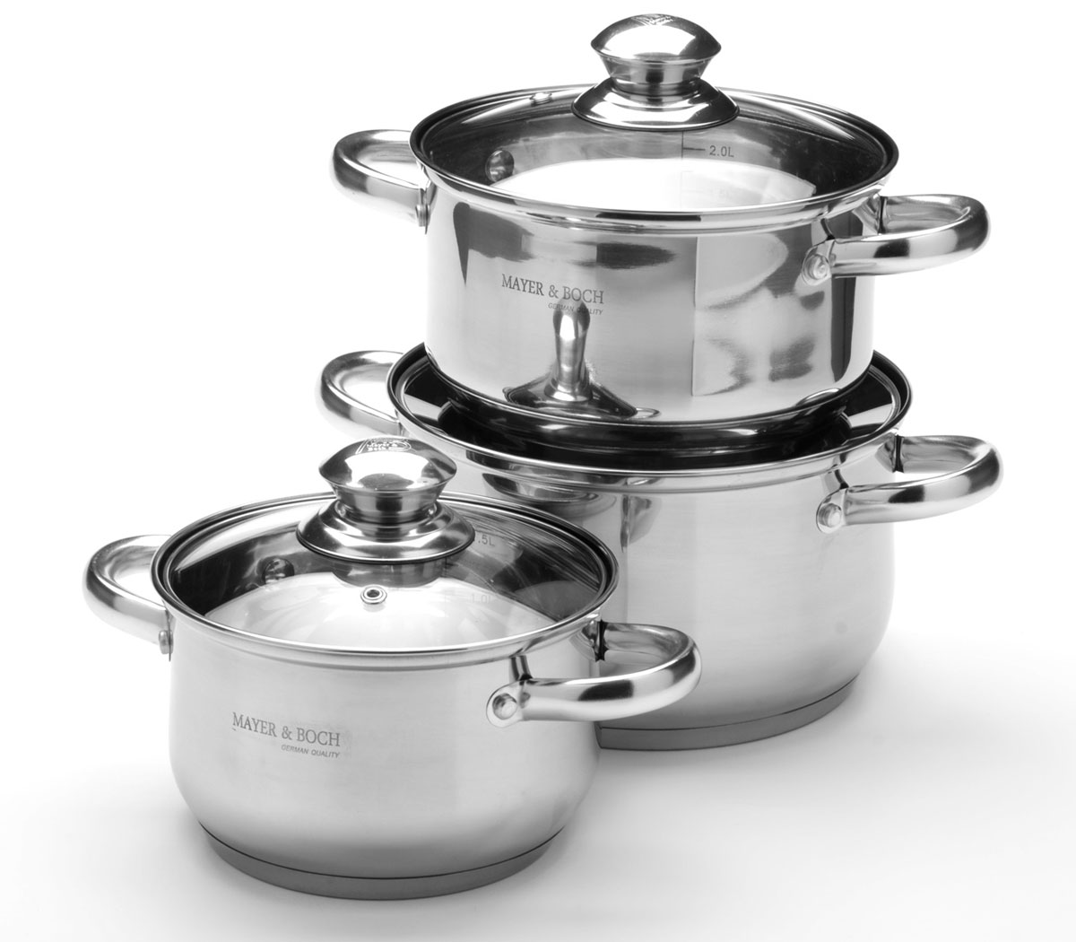 Набор посуды Mayer & Boch, 6 предметов. 25664256642,1+2,9+3,9