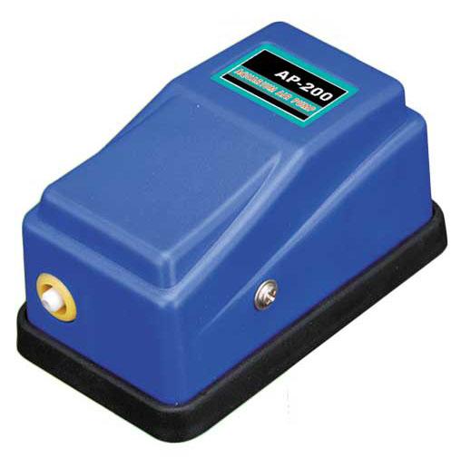 Воздушный компрессор Barbus Синий Чемпион, 1 канал, 3 л/м, 2 Вт щетка аквариумная barbus 1 магнитная всплывающая