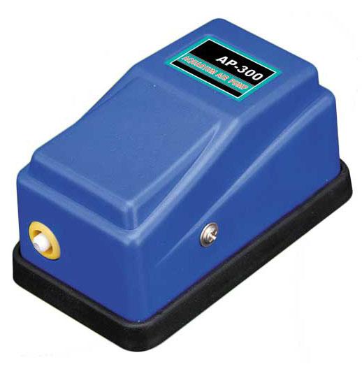 Воздушный компрессор Barbus Синий Чемпион, 1 канал, 3,5 л/м, 3 Вт щетка аквариумная barbus 1 магнитная всплывающая