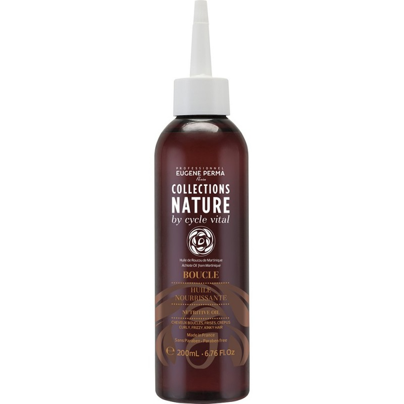 Eugene Perma Cycle Vital Nature HuИзраильe Nourrissante - Масло для волос питательное 200 мл21033013Питает и смягчает волосы. Придает шелковистость и блеск.