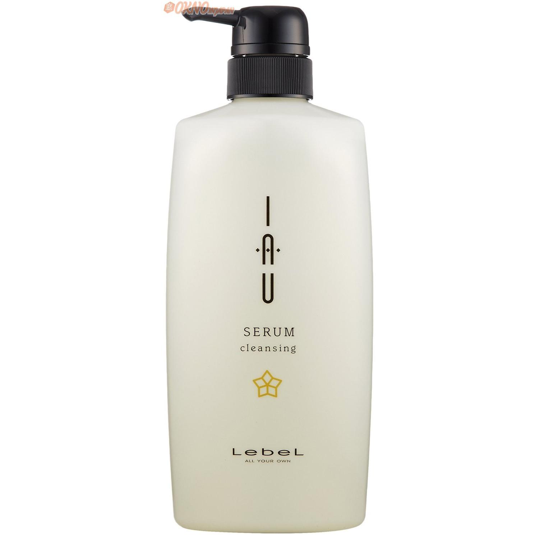 lebel archh расслабляющий аромашампунь для сухой кожи головы iau cleansing relaxment 4249 600 мл Lebel IAU Serum Cleansing - Увлажняющий аромашампунь для ежедневного применения 600 мл