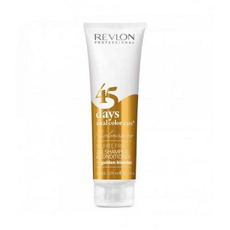 Revlon Professional RCC Shampoo and Conditioner Golden Blondes – Шампунь-кондиционер для золотистых блондированных оттенков 275 мл шампунь кондиционер revlon professional revlon professional mp002xw0o6ig