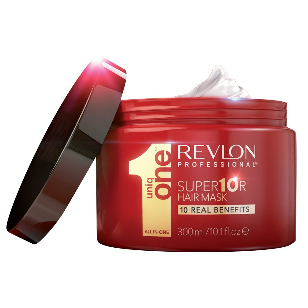 Uniq One Super Mask - Супермаска для волос 10 в 1 300 мл7220314000Super Mask Uniq One - 10 реальных преимуществ в 1 продукте, который позволит вам забыть о других масках для волос.1. Восстановление глубоко поврежденных волос.2. Интенсивное питание.3. Укрепляет волосы от корней до кончиков4. Невероятный блеск5. Шелковистость и гладкость6. Сенсационное разглаживание и распутывание7. Ультра- увлажнение.8. Быстро впитывается всего за 3 мин.9. Придание натурального объема волосам.10. Формула, которая не жирнит волосы.Результат: легко смывается, восстанавливает и питает волосы, делая их мягкими и шелковистыми, предотвращая ломкость и секущиеся кончики.