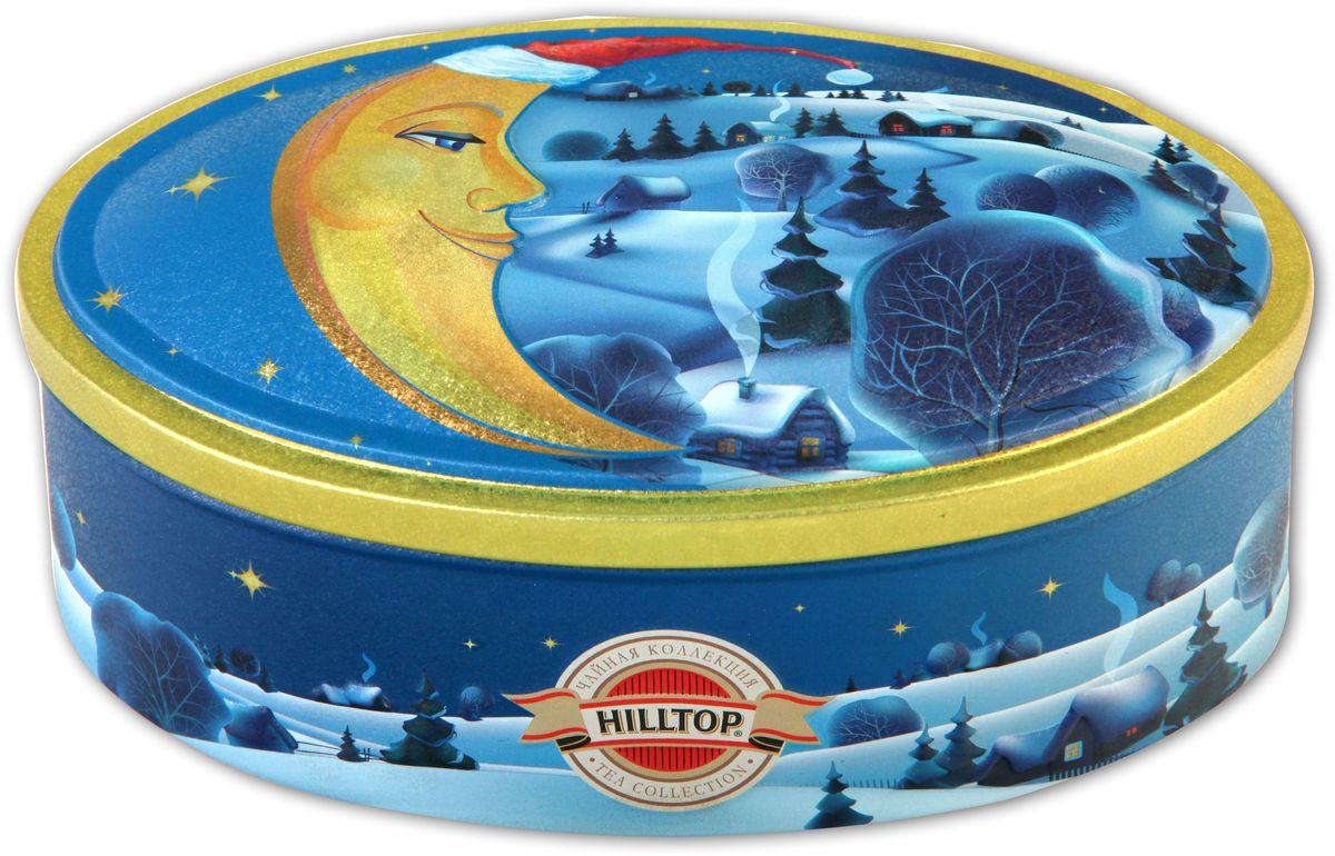 Hilltop Волшебная луна чай листовой, 100 г4607099307360Листовой чай Hilltop Волшебная луна - это ароматизированная смесь чая черного и зеленого байхового с добавками растительного сырья.