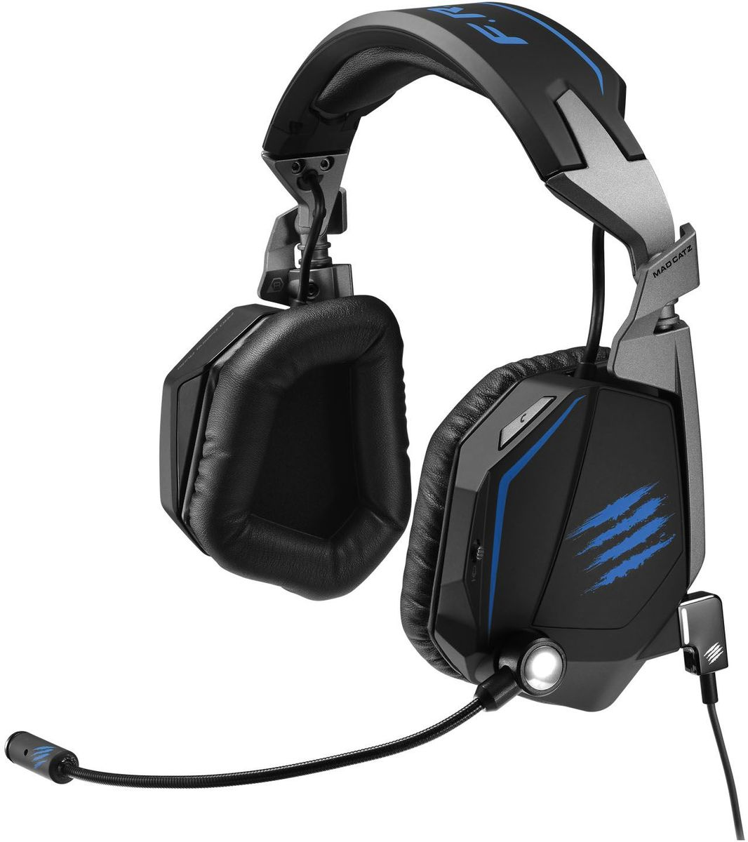 Mad Catz F.R.E.Q.ТЕ 7.1 Stereo Surround Headset игровые наушники мышь mad catz rat 1 black red mcb4373800a3 06 1