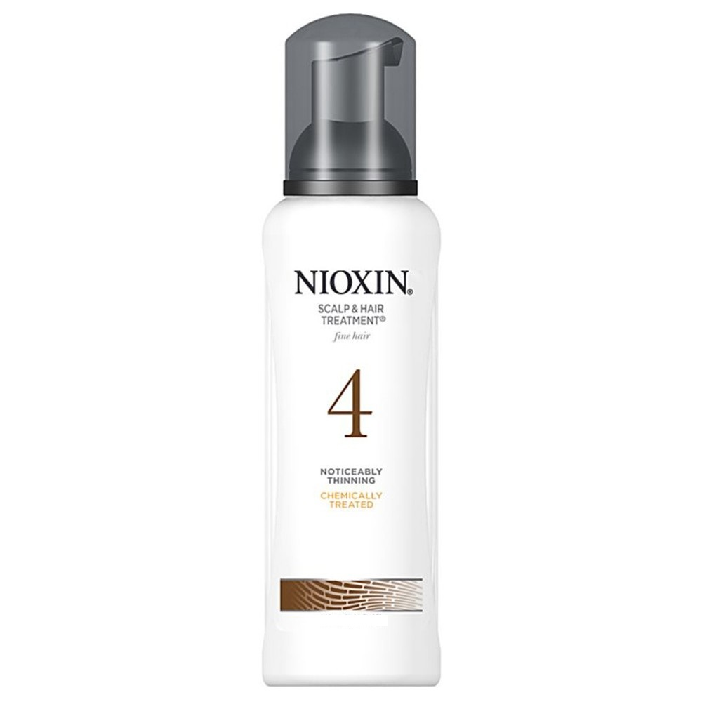 Nioxin Scalp Treatment System 4 - Питательная маска (Система 4) 200 мл81543662/7657Питательная маска от Nioxin Система 4 предназначена для редеющих волос, которые поддались химической обработке. Средство глубоко и интенсивно питает волосы и кожу головы, насыщая их полезными веществами. Также маска от Ниоксин защищает волосы от негативного воздействия внешней среды.После применения питательной маски от Nioxin волосы становятся эластичными и шелковистыми, они блестят и выглядят здоровыми и красивыми.