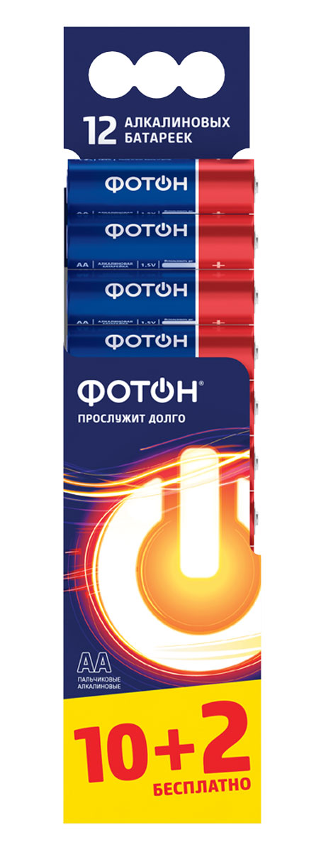 """Элемент питания Фотон """"LR6 BP12"""""""