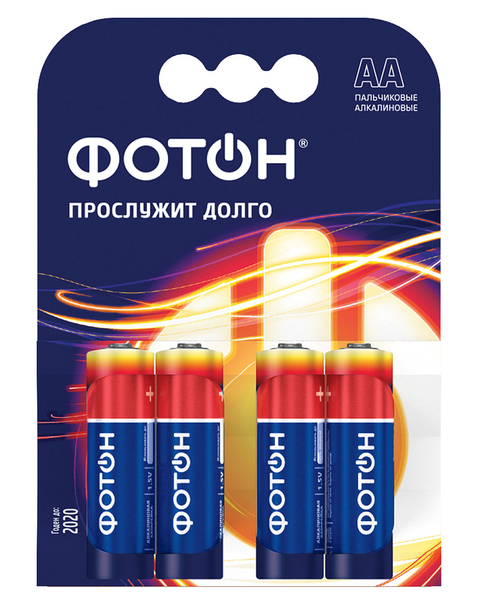 Элемент питания Фотон LR03 КP4 батарейки фотон