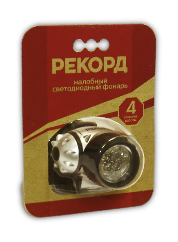 Фонарь Рекорд SH-0407-01, 3 x R03, 7 светодиодов22583Фонарь Рекорд SH-0407-01 предназначен для автономного освещения в темное время суток. Корпус изготовлен из резины. Выключатель представлен в виде кнопки, расположенной сбоку. Источник света: 7 светодиодовПитание - 2хLR20.