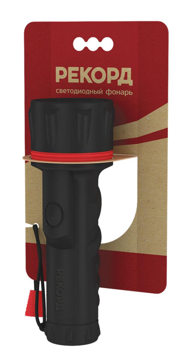 Фонарь Рекорд ММ-0207 (2хD) (7 светодиодов)22695Материал корпуса - резина Источник света - 7 светодиодов Straw-Hat Питание - 2хLR20 (D) Выключатель - кнопочный, боковой, герметичный
