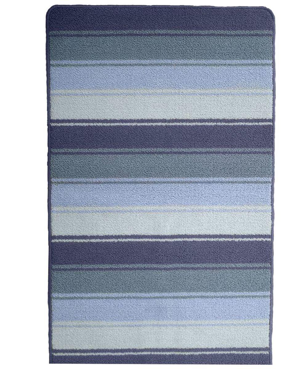 Коврик для ванной Kamalak Tekstil, цвет: серый, 60 x 100 см. УКВ-1005УКВ-1005Ковры-паласы выполнены из полипропилена. Ковры обладают хорошими показателями теплостойкости и шумоизоляции. Являются гиппоалергенными. За счет невысокого ворса ковры легко чистить. Вам придется по душе широкая гамма цветов и возможность гармонично оформить интерьер. Практичный и устойчивый к износу ворс - от постоянного хождения не истирается, не накапливает статическое электричество. Структура волокна в полипропиленовых моделях гладкая, поэтому грязь не может выесться, на ворсе она скапливается с трудом. Полипропилен не впитывает влагу, отталкивает водянистые пятна. Уход: Самый простой способ избавить изделие от грязи – пропылесосить его с обеих сторон (лицевой и изнаночной).Влажная уборка с применением шампуней и моющих средств не противопоказана. Если шерсти и шёлку универсальные чистящие составы не подходят, то для синтетики они придутся в самый раз.Хранить их нужно рулоном, не складывая «салфеткой».При надлежащем уходе синтетический ковёр прослужит долго, не утратив ни яркости узора, ни блеска ворса, ни его упругости.