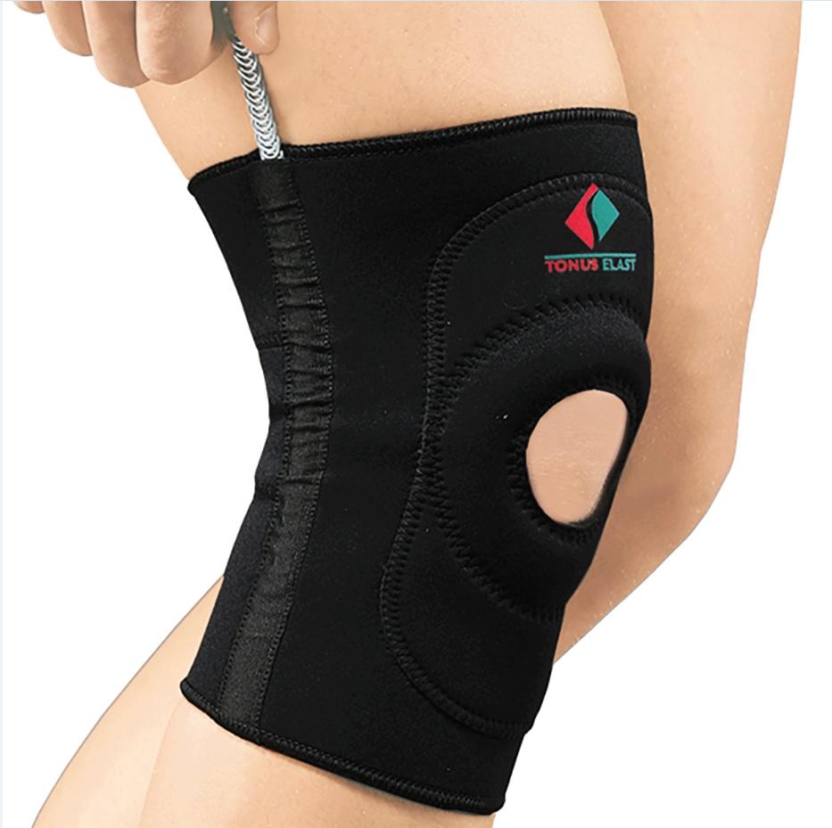 Повязка Tonus Elast для фиксации коленного сустава c пружинными вставками. 9903-01. Размер 3 повязка медицинская эластичная tonus elast для фиксации коленного сустава 9911
