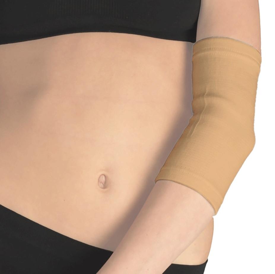 Бинт (фиксатор) Tonus Elast медицинский эластичный трубчатый для локтевого сустава. 9605-01. Размер 4 повязка медицинская эластичная tonus elast для фиксации коленного сустава 9911