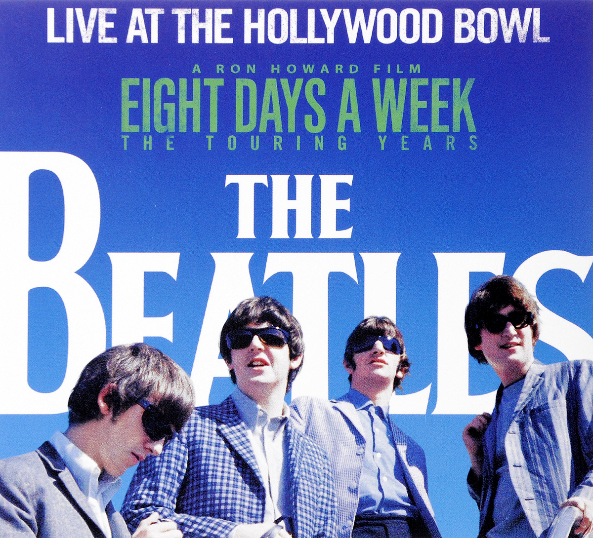 The Beatles The Beatles. Live At The Hollywood Bowl cd beatles live at the hollywood bowl