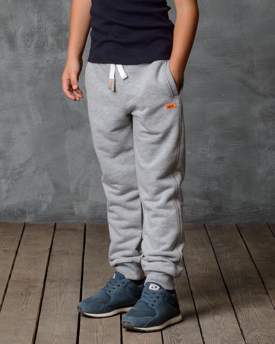 Брюки спортивные для мальчика Modniy Juk, цвет: серый меланж. 15B00010702. Размер 98 джемперы modniy juk джемпер