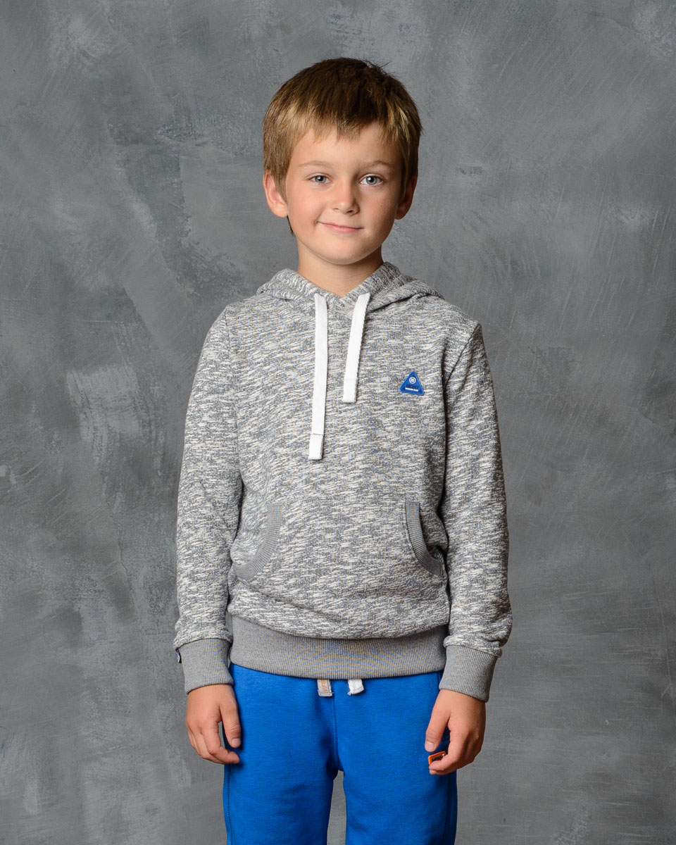 Толстовка для мальчика Modniy Juk, цвет: серый меланж. 25В00010702. Размер 98 джемперы modniy juk джемпер