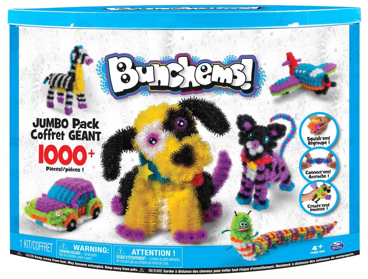Bunchems Конструктор Джамбопак моделирование забавных животных из шариков
