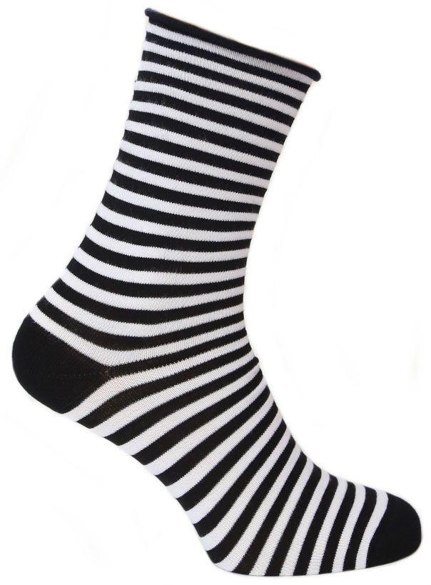Носки женские Tesema, цвет: черный, белый. 2543. Размер 37/392543Женские носки для повседневной носки средней плотности, без резинки. Обладают высокой износостойкостью. Мягкое как шелк природное волокно бамбука придает чрезвычайно нежное ощущение при соприкосновении с кожей, хорошо дышит, впитывает влагу и распределяет тепло. Носок и пятка сотканы из сученой нити, что значительно увеличивает износостойкость носок. Носки Tesema - традиционно высокое европейское качество и финские технологии.
