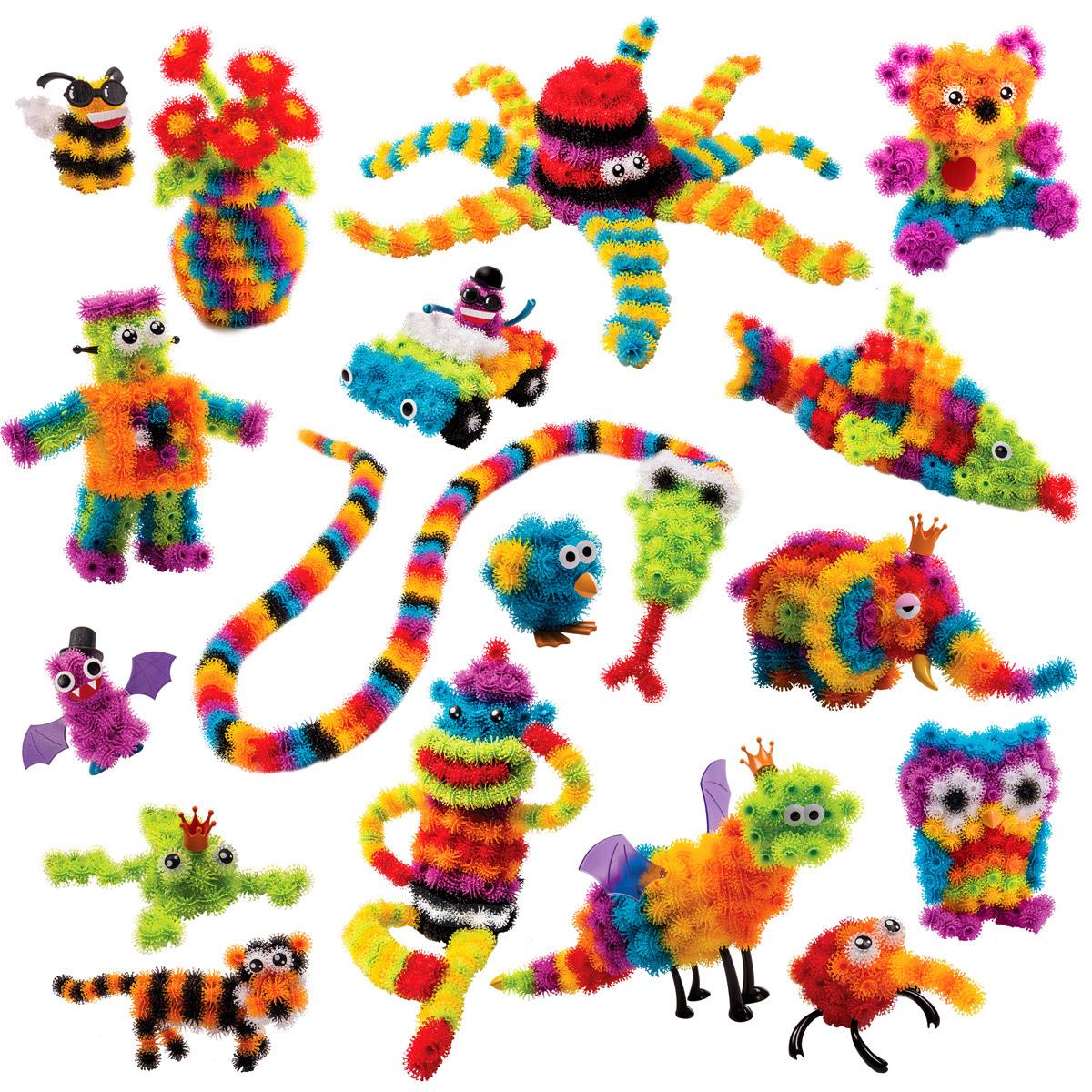 Bunchems Конструктор Мегапак моделирование забавных животных из шариков