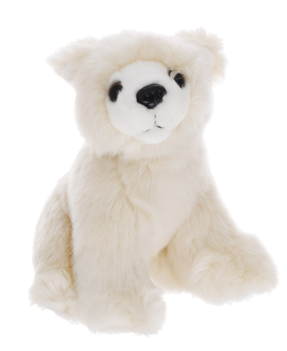 Soya Мягкая игрушка Медведь белый 17 см мягкая игрушка белый медведь 27 см