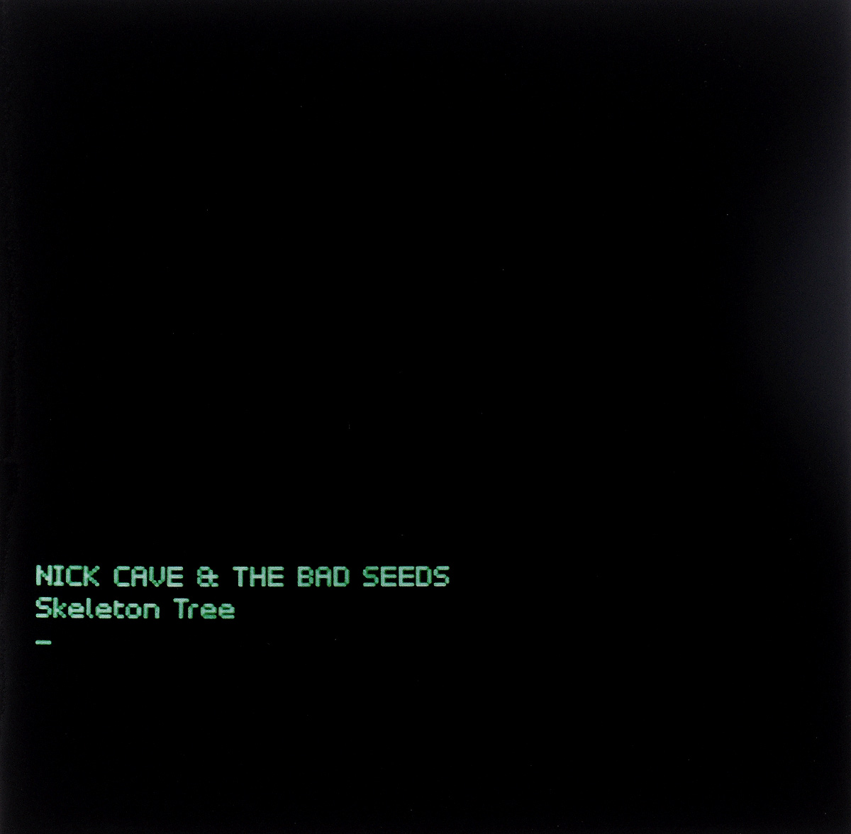 Ник Кейв,The Bad Seeds Nick Cave & The Bad Seeds. Skeleton Tree the big bad wolf