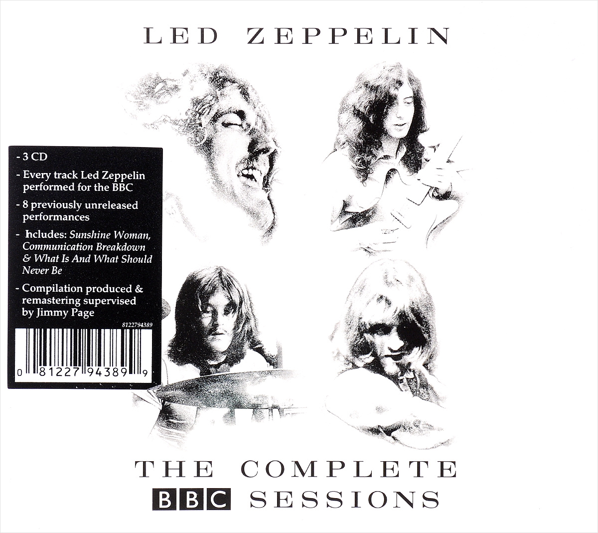 Led Zeppelin Led Zeppelin. The Complete BBC Sessions (3 CD) cd led zeppelin the complete bbc sessions deluxe