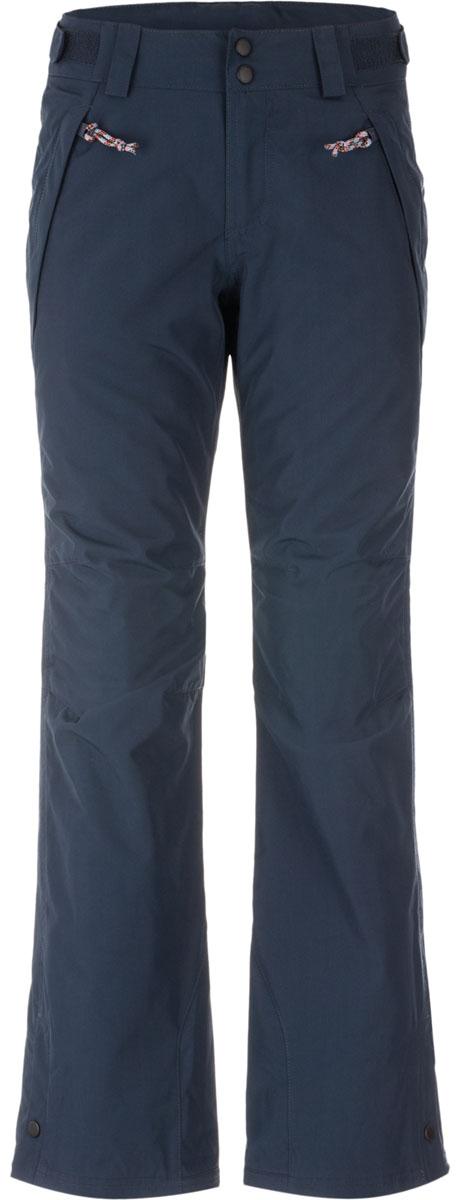 Брюки женские для сноуборда ONeill Pw Star Pant Insulated, цвет: темно-синий. 658650-5032. Размер L (48)658650-5032Женские сноубордические брюки стандартной посадки выполнены из высококачественного материала. Кроме основных конструктивных особенностей, присущих сноубордическим брюкам, в модели есть дополнительные элементы, такие как регулировка ширины по низу брюк, укрепленный материал по низу брюк, система крепления брюк к куртке, артикулируемые колени, снегозащитные гетры, регулируемый пояс, проклеенные швы, водонепроницаемые молнии, которые в совокупности обеспечивают дополнительные комфортные условия в использовании. Ткань обработана по технологии HyperDry - нанотехнология нового поколения обеспечивает стойкое влагоотталкивающее покрытие, позволяющее ткани быстро сохнуть, сохраняя при этом ее воздухопроницаемые свойства и оставаясь мягкой на ощупь. Карманы помогут разместить все необходимые мелочи.