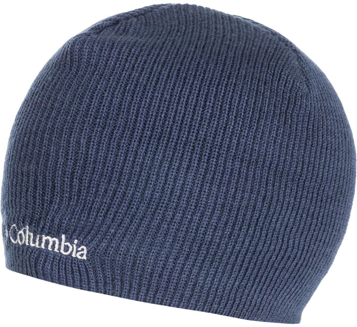 Шапка Columbia Whirlibird Watch, цвет: синий. 1185181-464. Размер универсальный1185181-464Данная модель шапки прекрасно подойдет для городской жизни и поездок за город. Модель оформлена вышитым логотипом бренда.