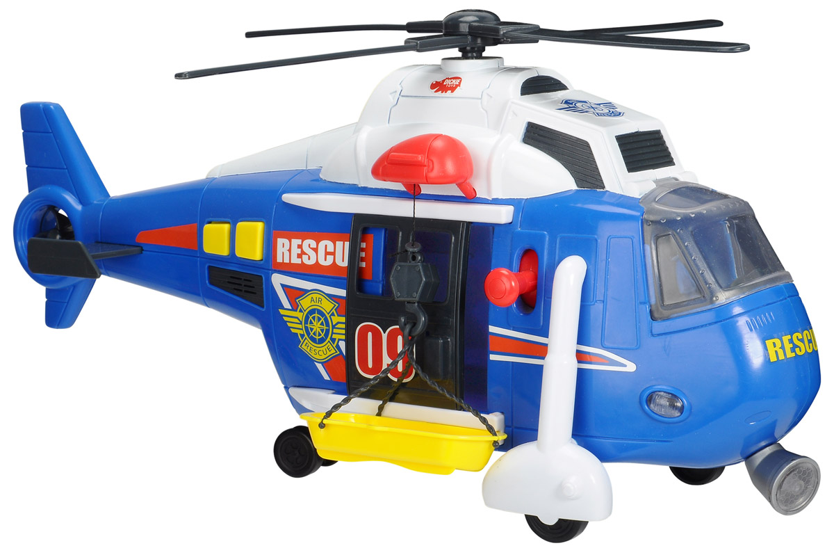 Dickie Toys Вертолет Air Rescue - Транспорт, машинки