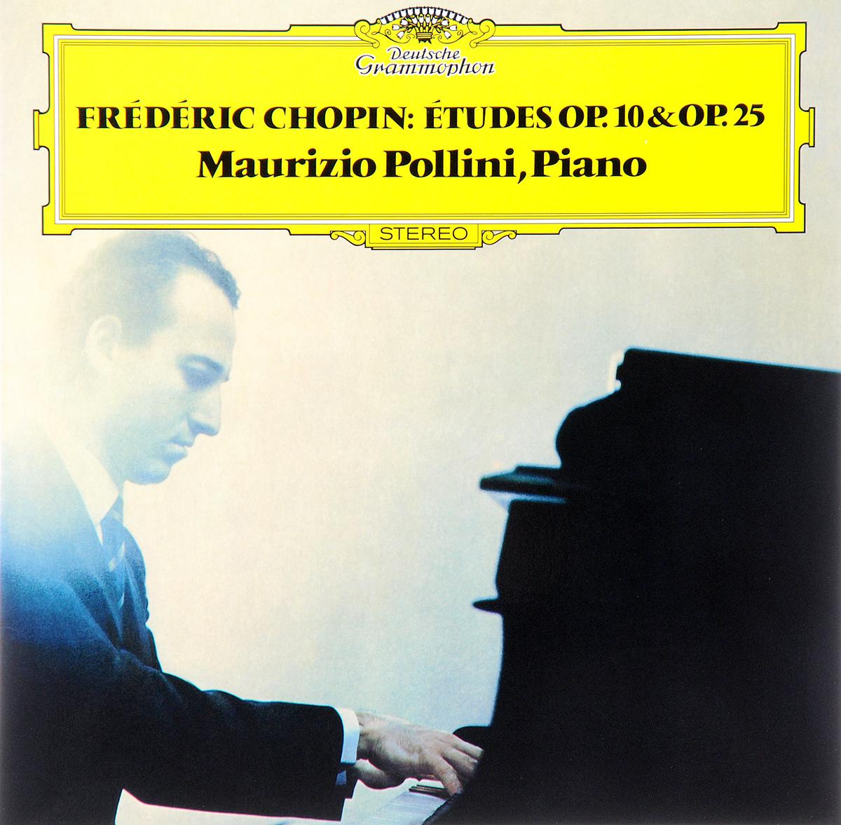 Маурицио Поллини Maurizio Pollini. Frederic Chopin. Etudes Op. 10 & Op. 25 (LP) chopin chopin 24 etudes op 10 25