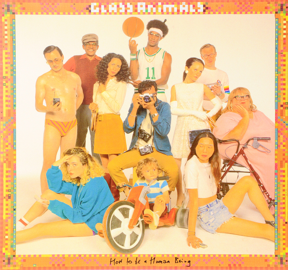 Glass Animals Glass Animals. How To Be A Human Being (2 LP) tie side two tone swimsuit