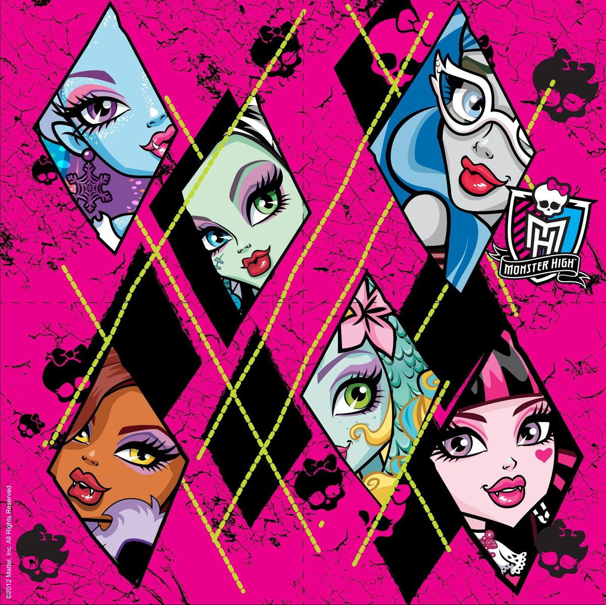 Monster High Набор салфеток 20 шт росмэн набор наклеек 1 monster high