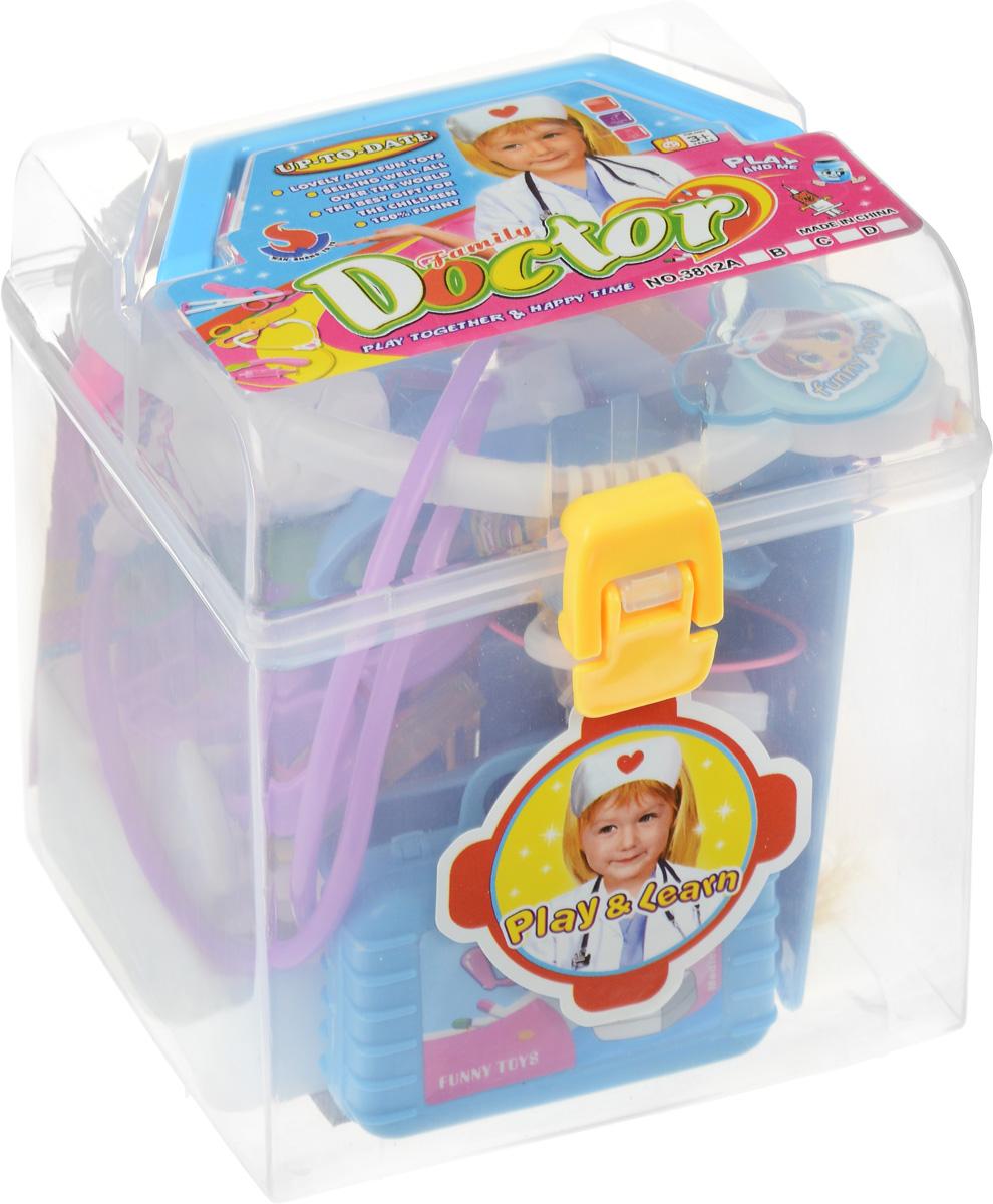 Junfa Toys Игровой набор Family Doctor Девочка игрушки для ванны tolo toys набор ведерок квадратные